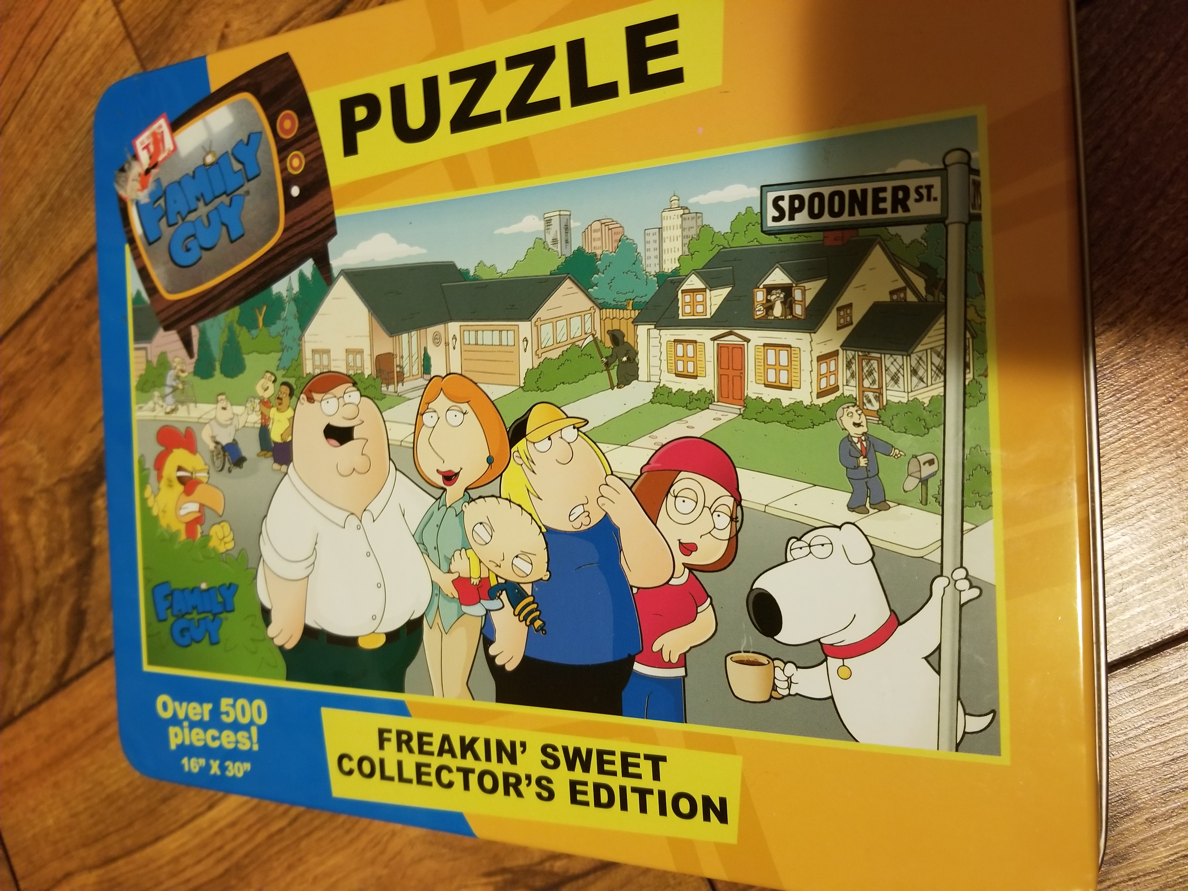 Family Guy 500 pc. Puzzle in Tin
