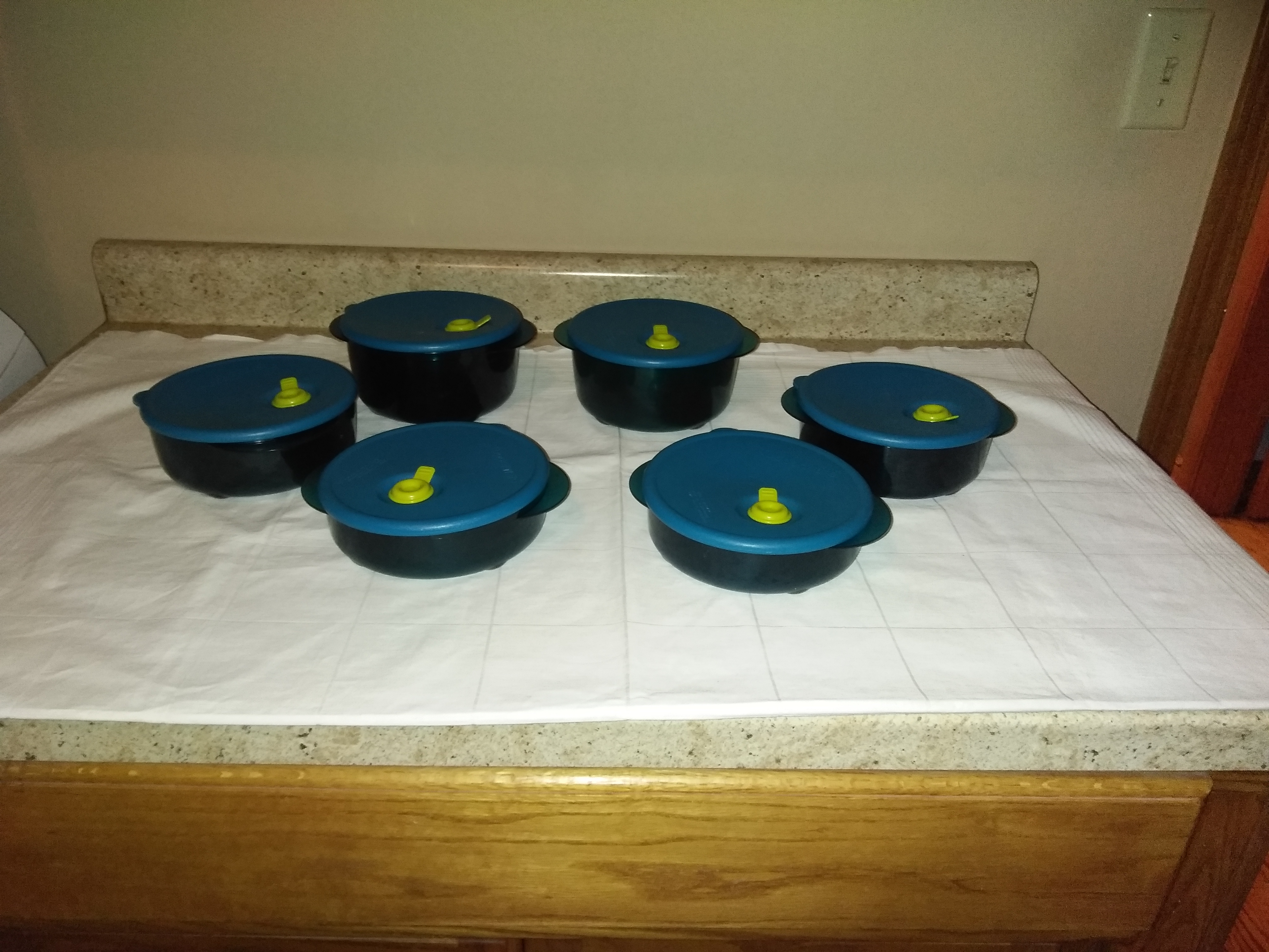 Rock and Serve set of 6