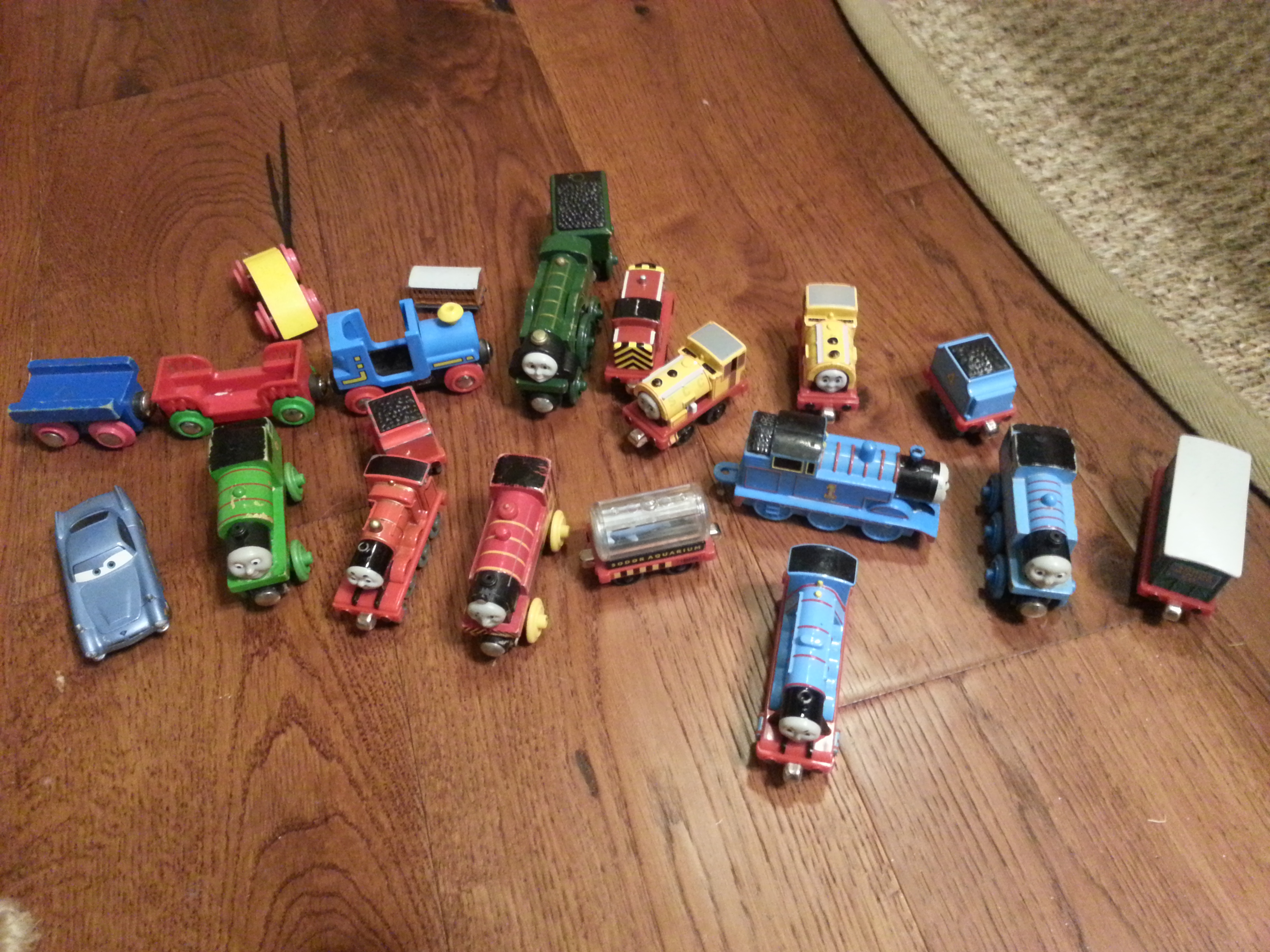 Thomas the Tank Engine Train and Friends. Wooden and metal
