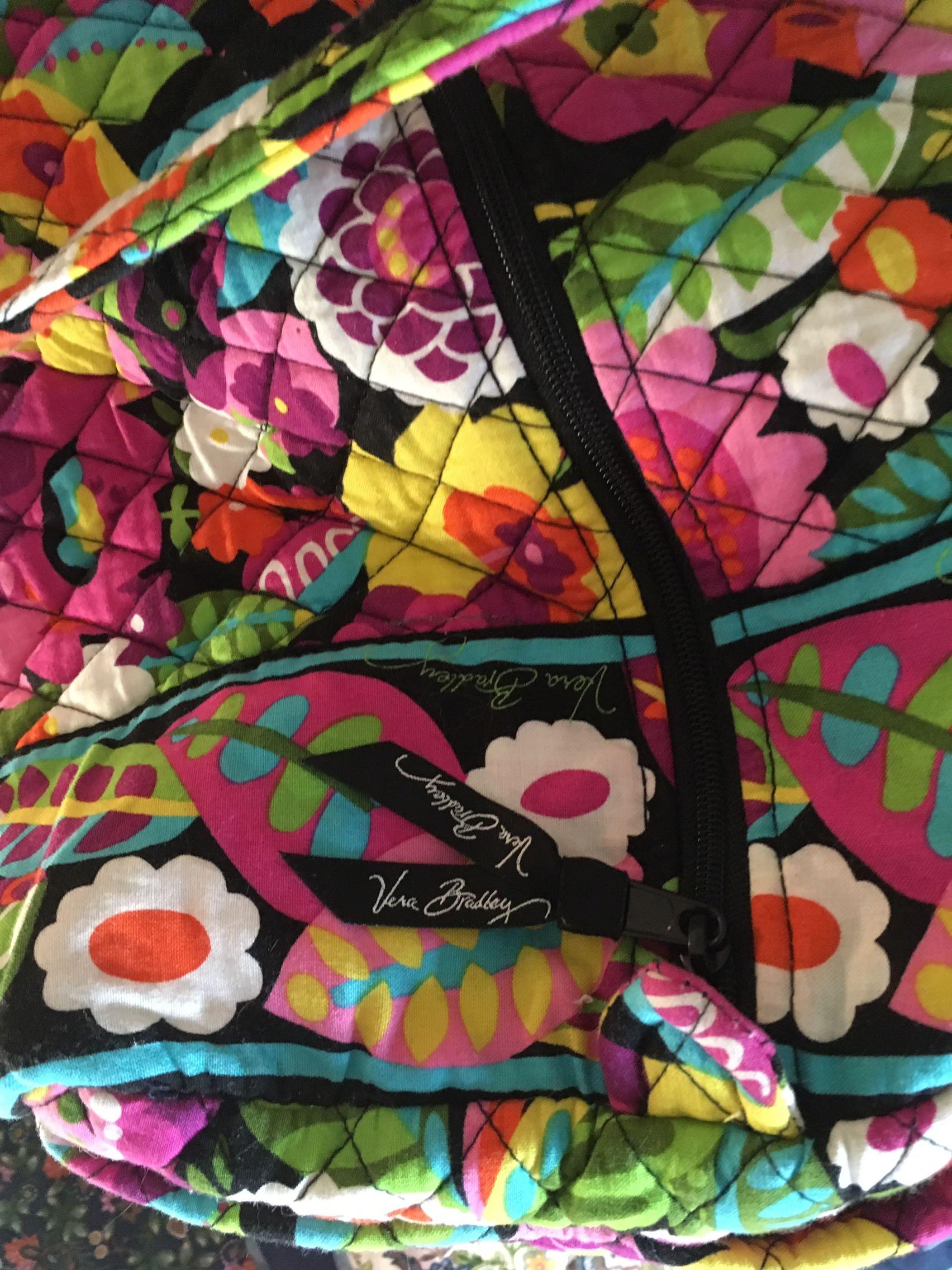 Vera Bradley overnight/weekender/gym bag