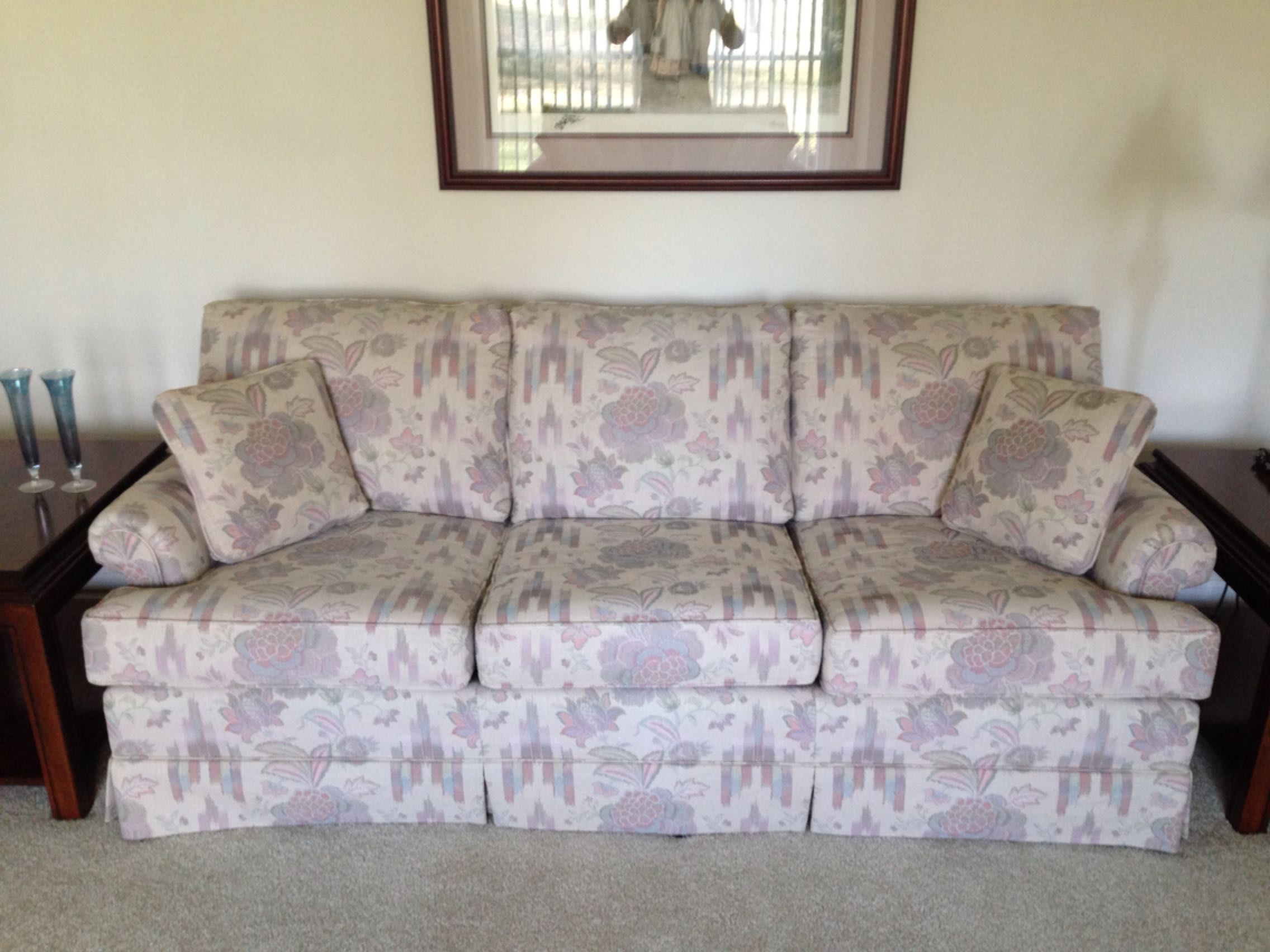 """38Dx80L"""" COCHRANE FURNITURE PURCHASED AT B.F. MYERS COUCH & LOVE-SEAT SET, HIGH QUALITY, GREAT CONDITION, PICK UP WHITE HOUSE OBO"""