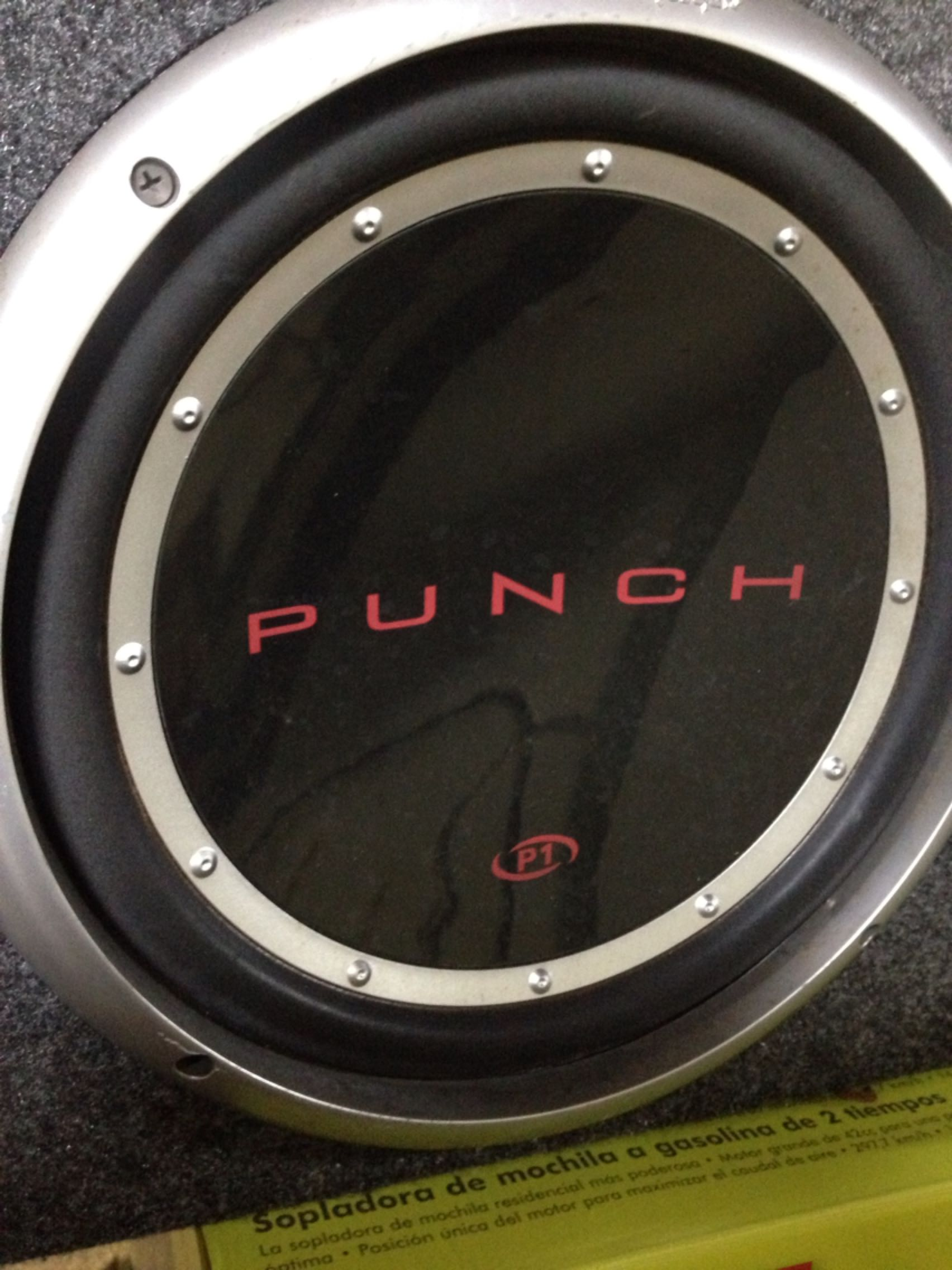 """12"""" Rockford Fosgate P1 Punch subs w/ amp"""