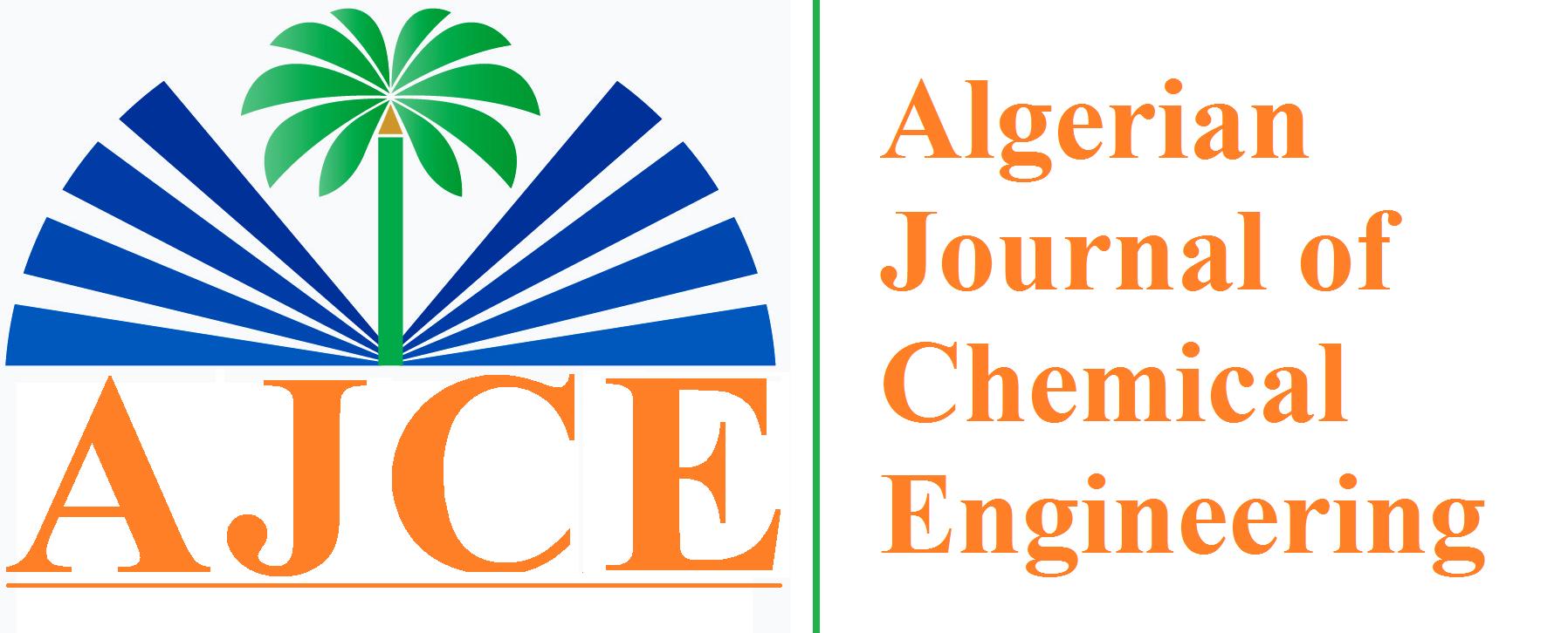 Algerian Journal of Chemical Engineering