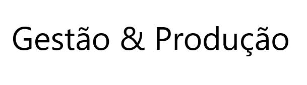 Gestão & Produção
