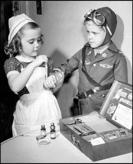 War Toys For Girls : Children wartime wednesdays elinor florence