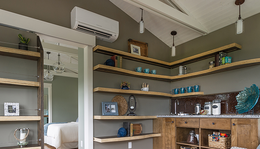 Ductless heat pumps and ductless cooling