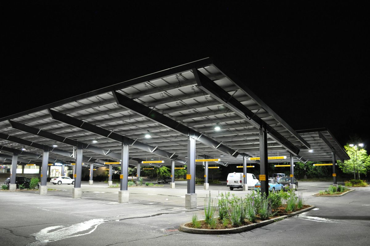 solar carports commercial solar carport design installation. Black Bedroom Furniture Sets. Home Design Ideas