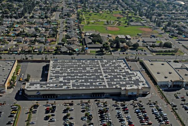 Walmark Commercial Rooftop Solar Panels