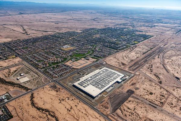 Solar installation - First Solar Mesa Facility