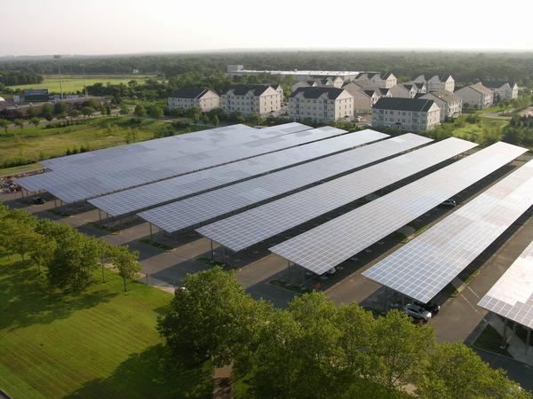 Solar Panel Carport