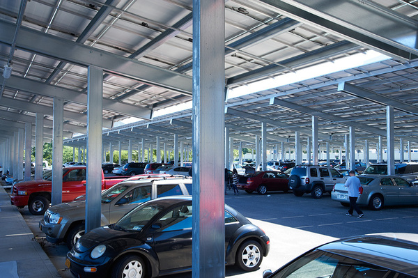 Commercial Solar Parking Lot