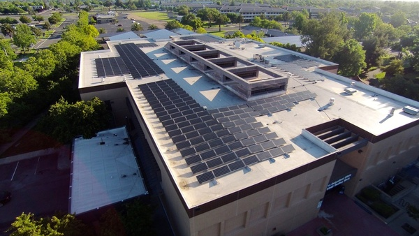 Rooftop Solar Parking Lot