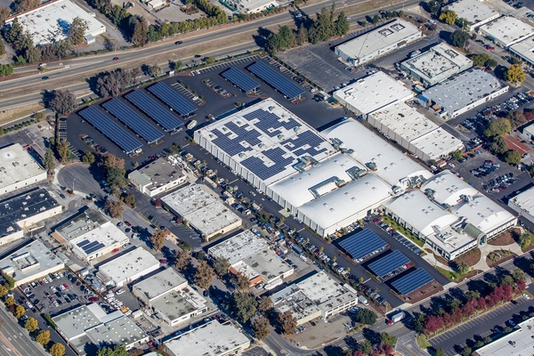 Solar Parking Lot Canopies