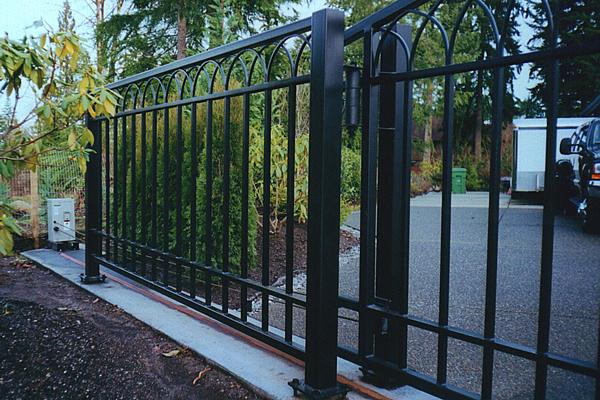 Wrought iron gates commercial seattle wa
