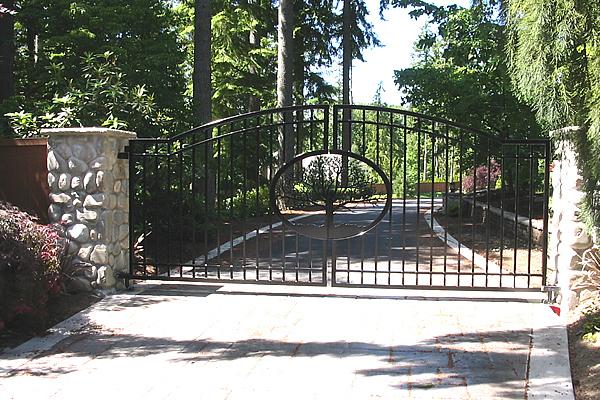 Iron tree commercial gates seattle wa
