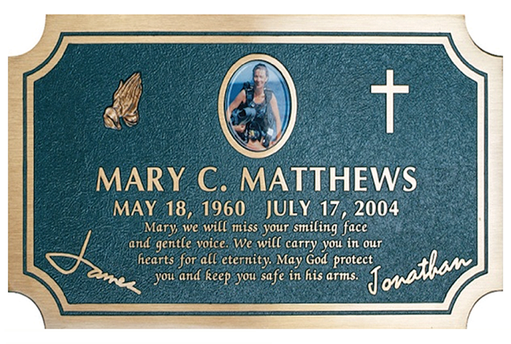 Personalized Tribute Memorials