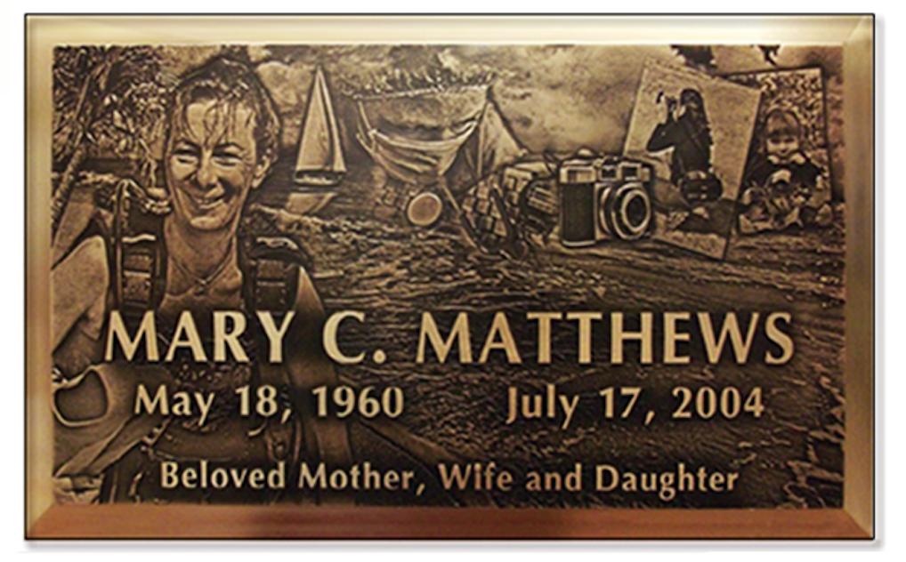 Lasting Memorials Bronze Memorial Marker
