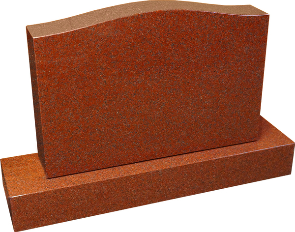 Ruby Red Double Tablet Monument