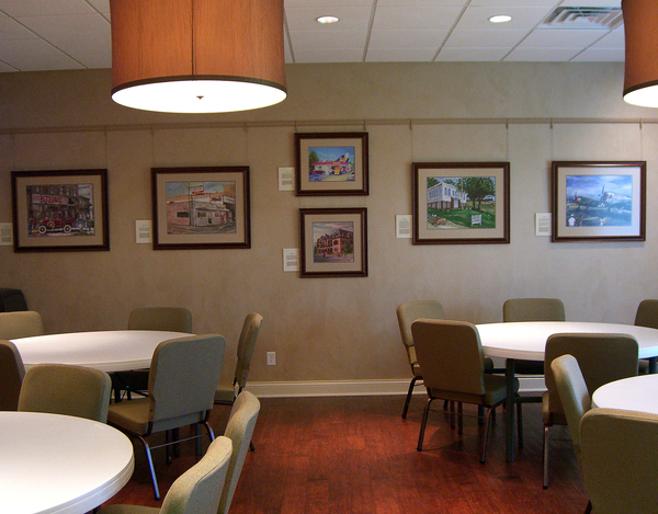 Community Room Sunset Funeral Home & Memorial Park Evansville, Indiana