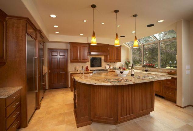 cherry maple birch and oak cabinets seattle custom