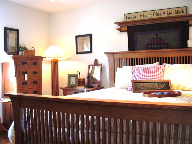 Shaker, Mission & Craftsman Bedroom Furniture : Seattle Mission ...