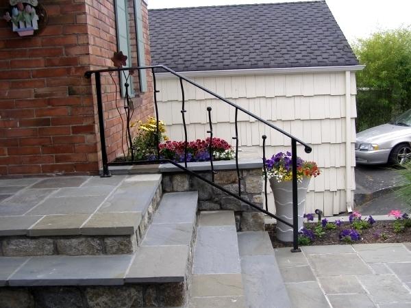 Modern iron railing commercial gates seattle wa