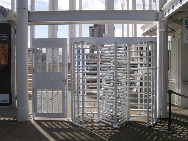 Pacific science center turnstiles commercial gates