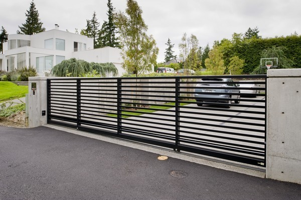 Modern lines commercial gates seattle wa