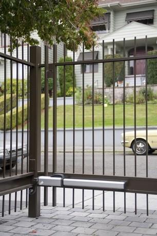 Simple Swing Gate Pedestrian Gate Commercial Gates