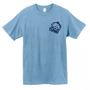 Men's Light Blue Logo Tee