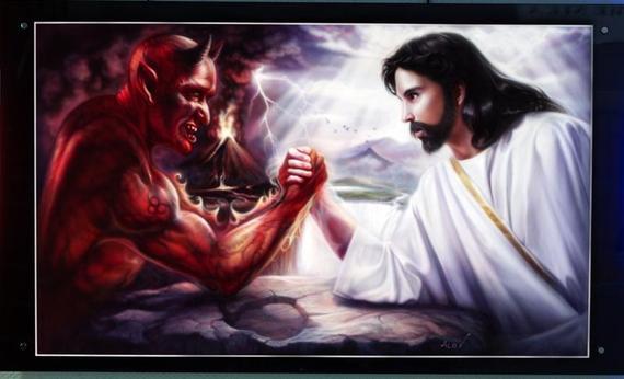 Jesusvsdevil