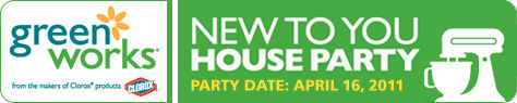 Green Works New To You House Party