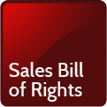 Sales Bill of Rights
