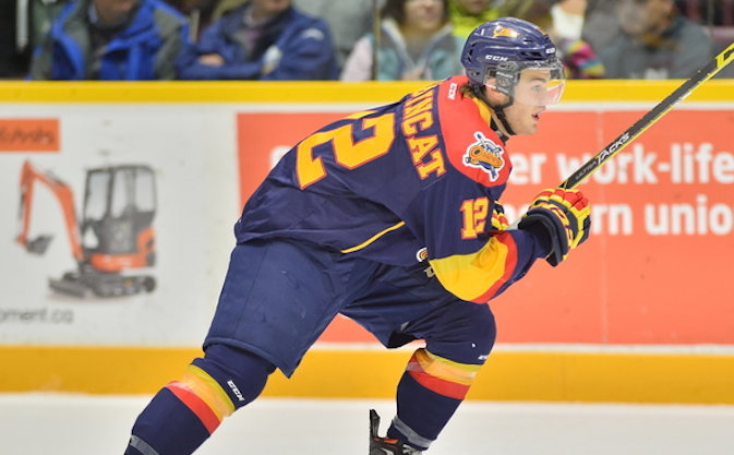 Alex DeBrincat of the Erie Otters. Photo by Terry Wilson / OHL Images.