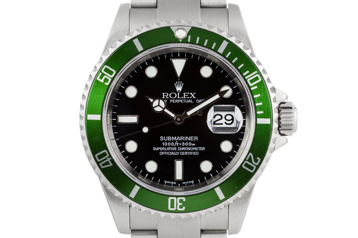 FS 2003 Rolex Submariner 16610LV Green Bezel , Rolex Forums