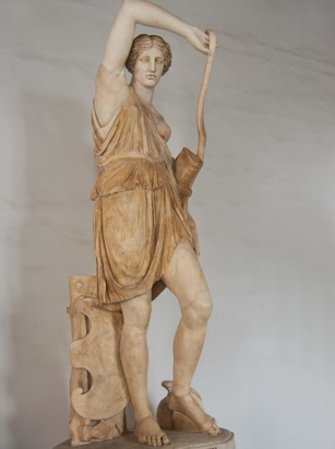 Amazon Mattei at the Capitoline Museums in Rome depicts one of the great female Amazon warriors.