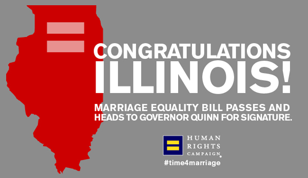 Illinois victory marriage equality