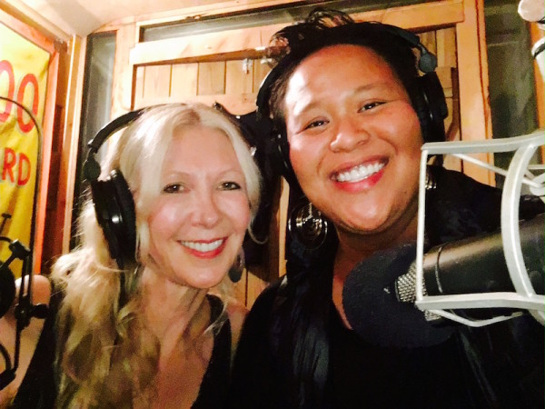 Carrie Beehan and Cynthia Cherish Malaran, in the studio!