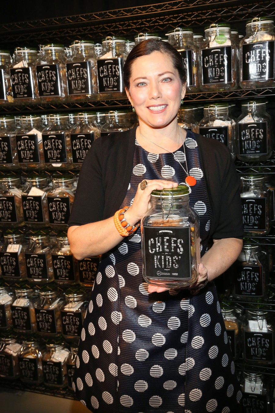 Gretchen Witt==2015 Chef For Kids Cancer to Benefit Cookies for Kids' Cancer==The Waterfront, 269 11th Avenue, NYC.==February 26, 2015==©Patrick McMullan==photo - Sylvain Gaboury/PatrickMcMullan.com====