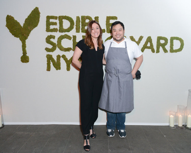 Kate Brashares, David Chang