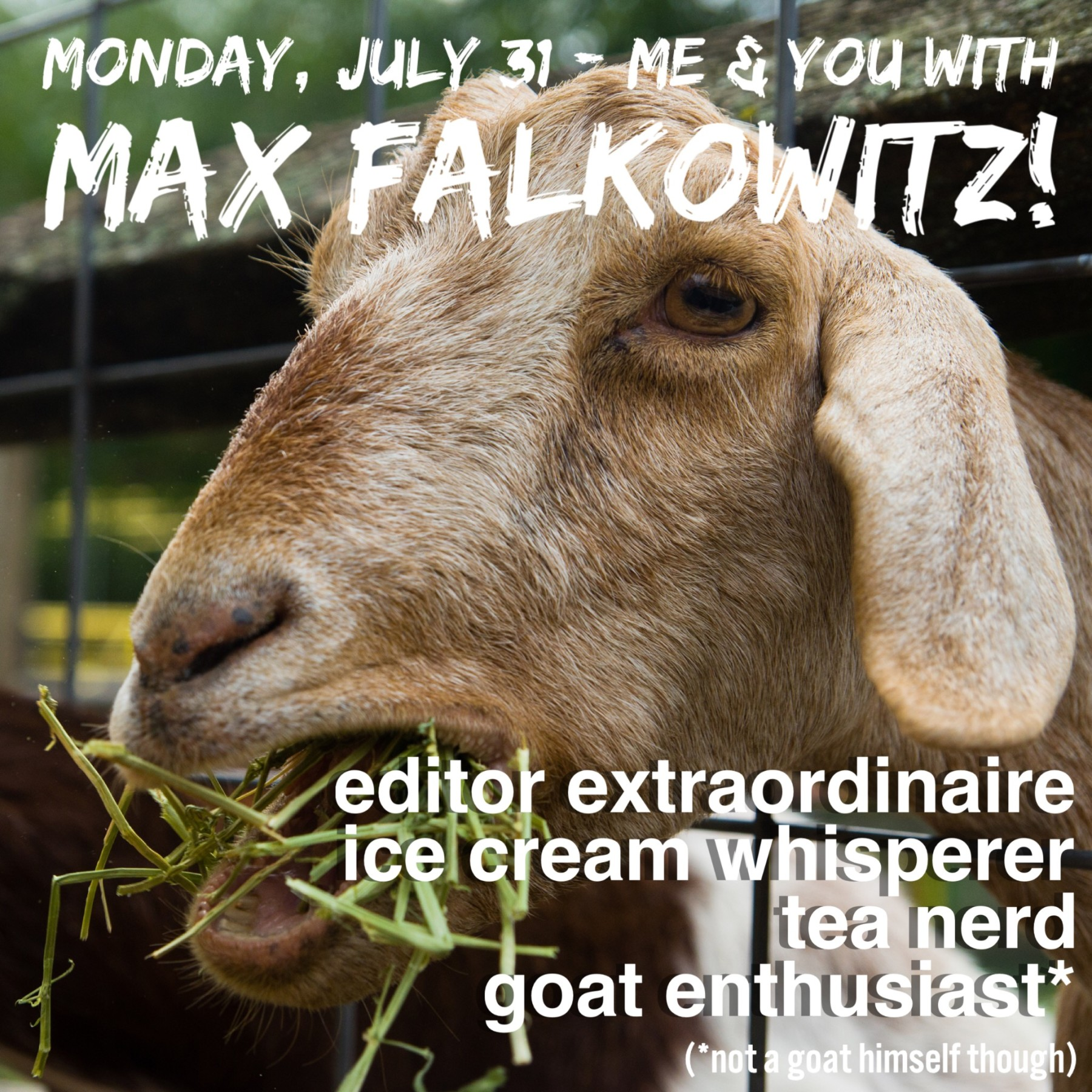 Max Falkowitz Goat photo - USE THIS
