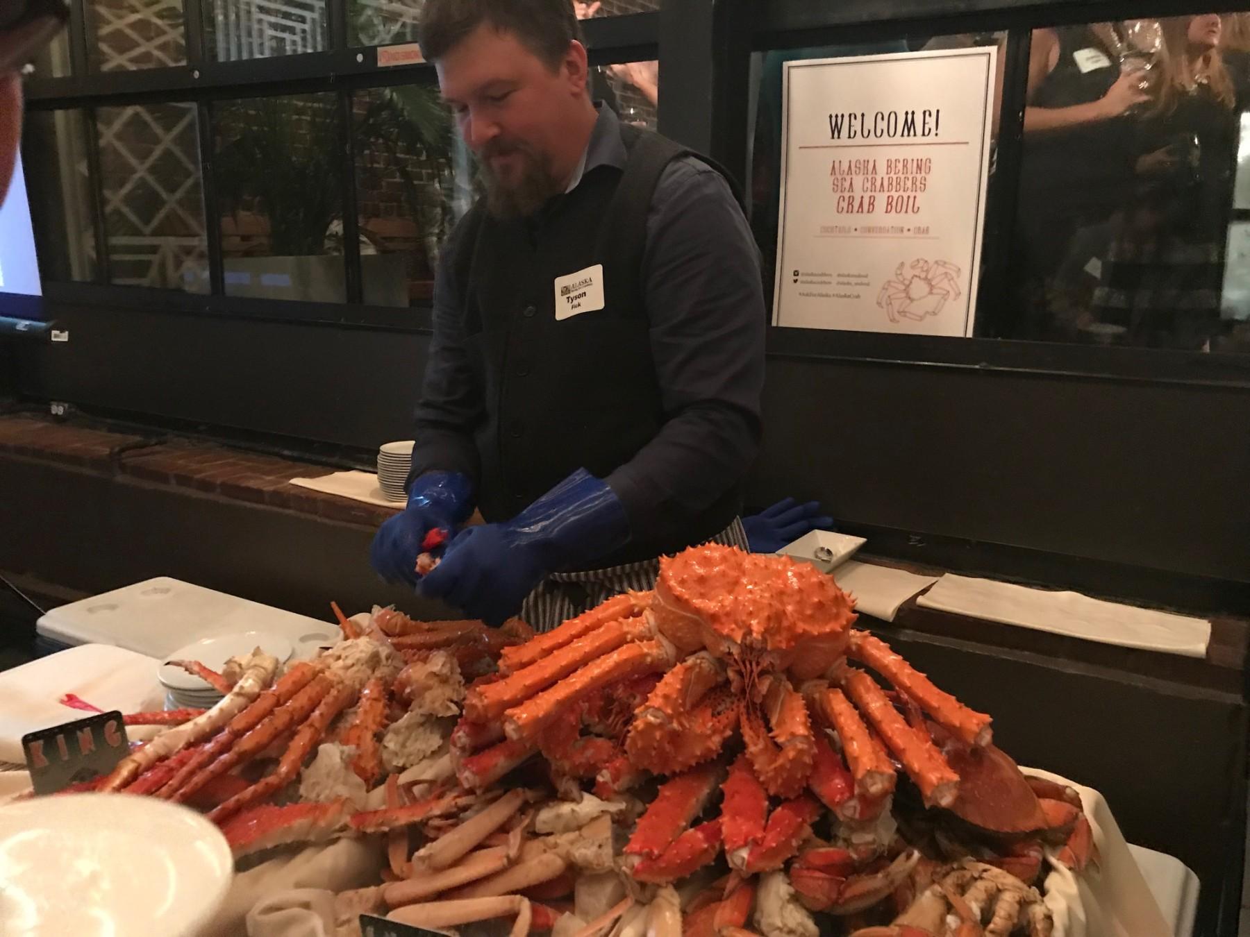 Tyson Fick, Executive Director of the Alaskan Bering Sea Crabbers