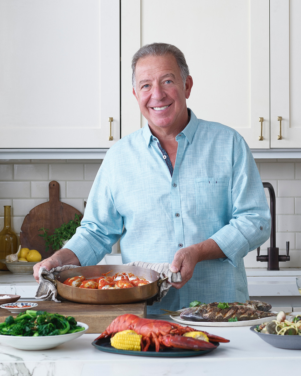 Joe Holding Dish - Cropped - Shari Bayer