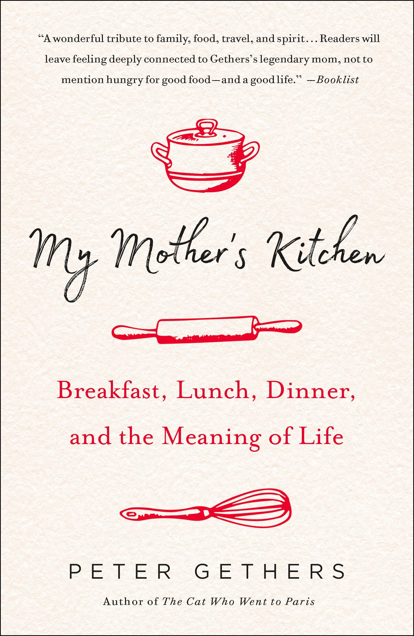 PB Cover. My Mother's Kitchen - Elena Santogade