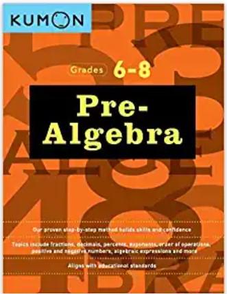 Pre-Algebra Workbook I