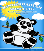 Kindergarten Complete - Save 30% This Week Only: All-In-One, Fun Curriculum!