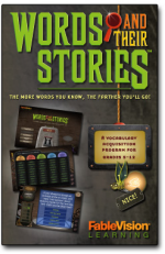 SAVE 93% PLUS A FREE HOMESCHOOL POSTER SET! on Words and Their Stories