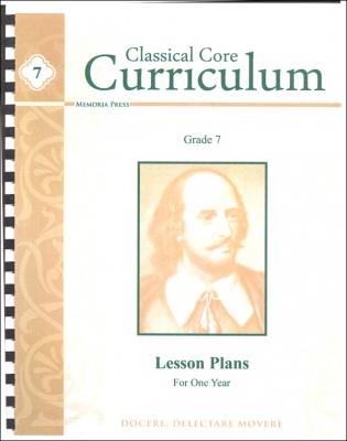 Classsical Seventh Grade Curriculum Lesson Plans