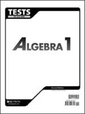 Algebra 1 Tests 2nd Edition