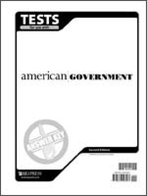 American Government Tests Answer Key 2nd Edition
